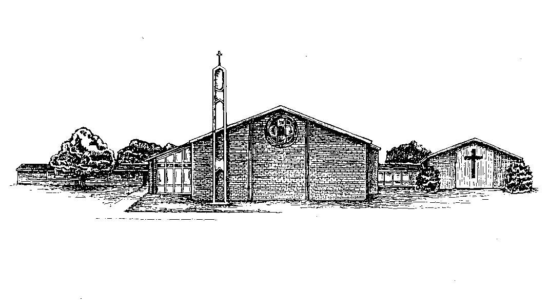 Church Line Drawing 2620 West Grauwyler Road